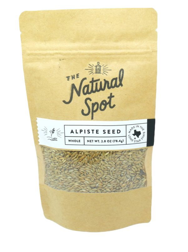 Bag of Alpiste Seed from the Natural Spot