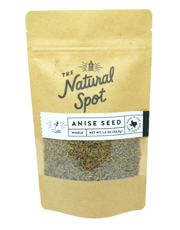 Bag of whole Anise Seed from the Natural Spot