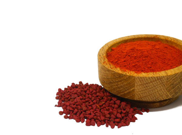 Whole and ground Annatto from the Natural Spot