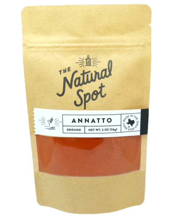 Bag of ground Annatto from the Natural Spot