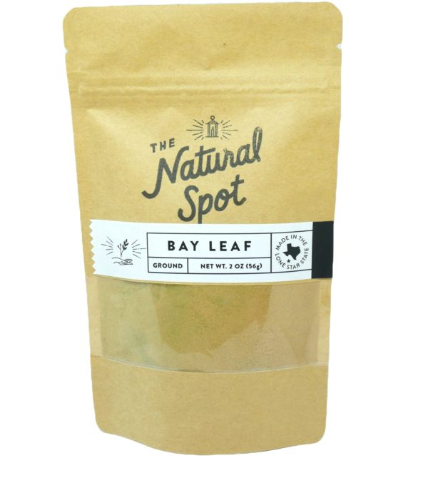 Bag of ground Bay Leaf from the Natural Spot