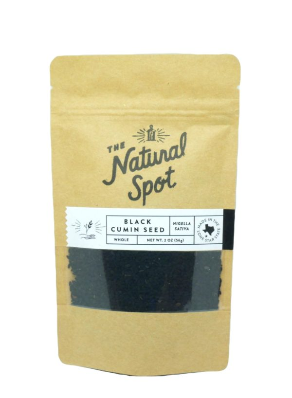 Bag of Black Cumin Seed from the Natural Spot