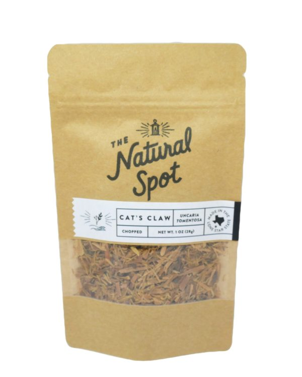 Bag of Cat's Claw from the Natural Spot