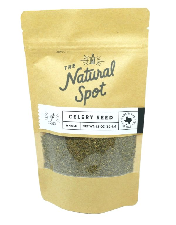 Bag of whole Celery Seed from the Natural Spot