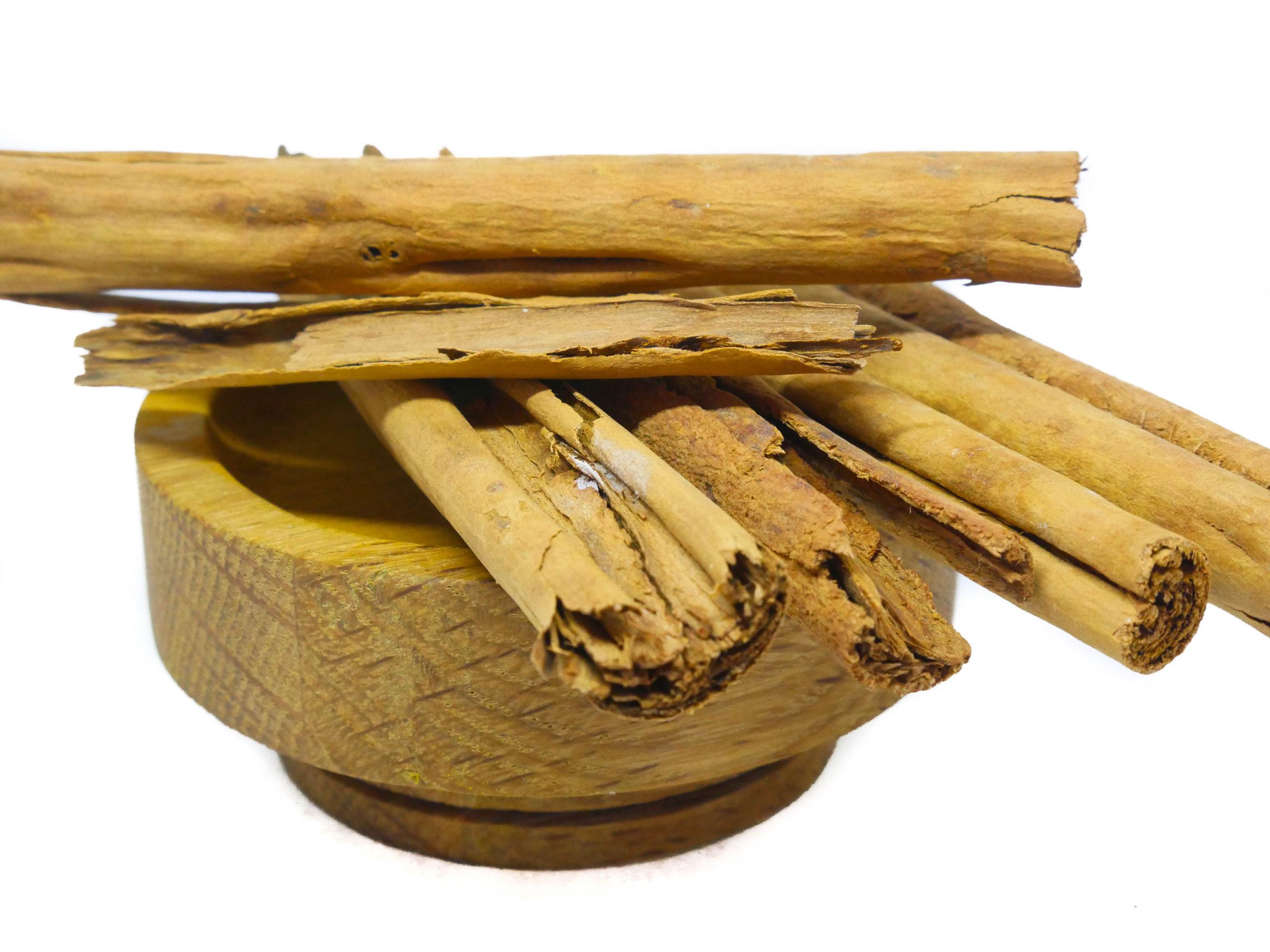 Whole Ceylon Cinnamon sticks from the Natural Spot