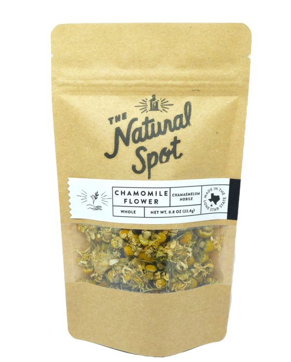 Bag of Chamomile Flower from the Natural Spot