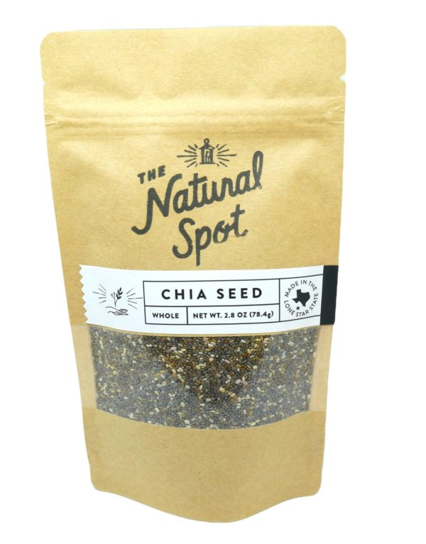 Bag of Chia Seed from the Natural Spot