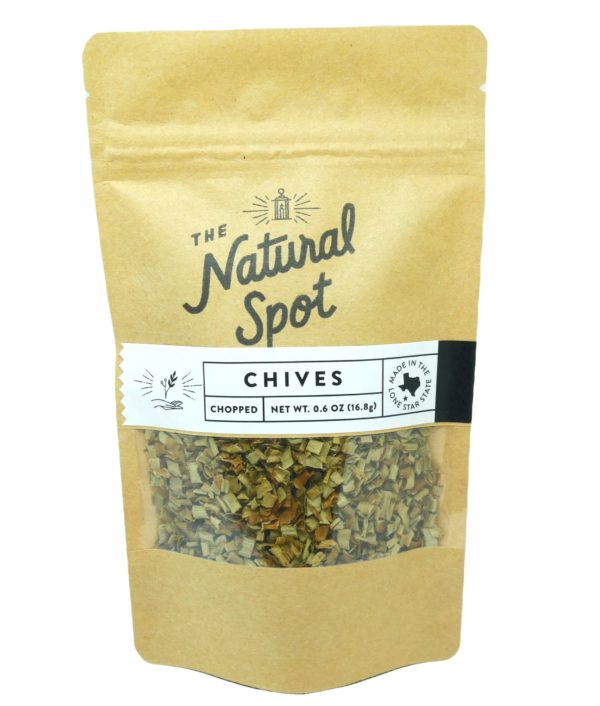 Bag of dried Chives from the Natural Spot