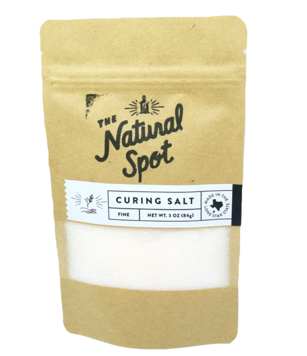 Bag of fine Curing Salt from the Natural Spot