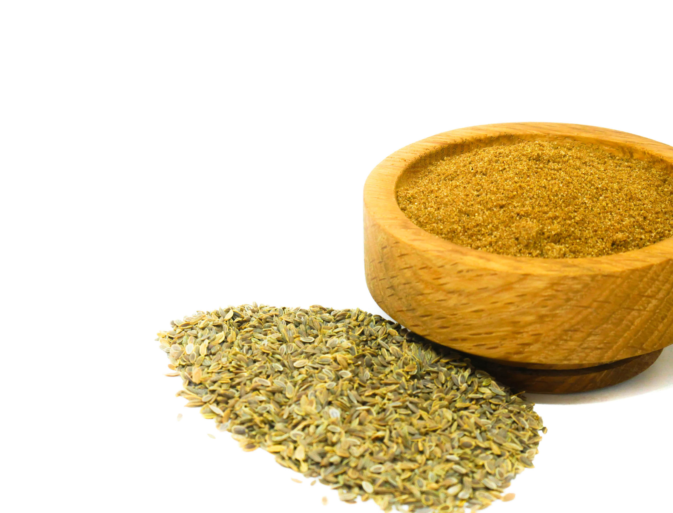 Whole and ground Dill Seed from the Natural Spot