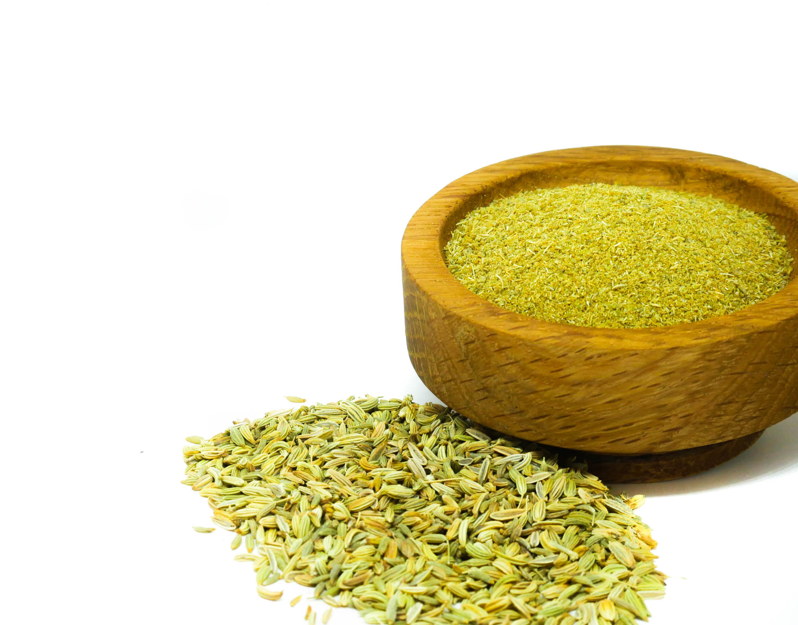Whole and ground Fennel Seed from the Natural Spot