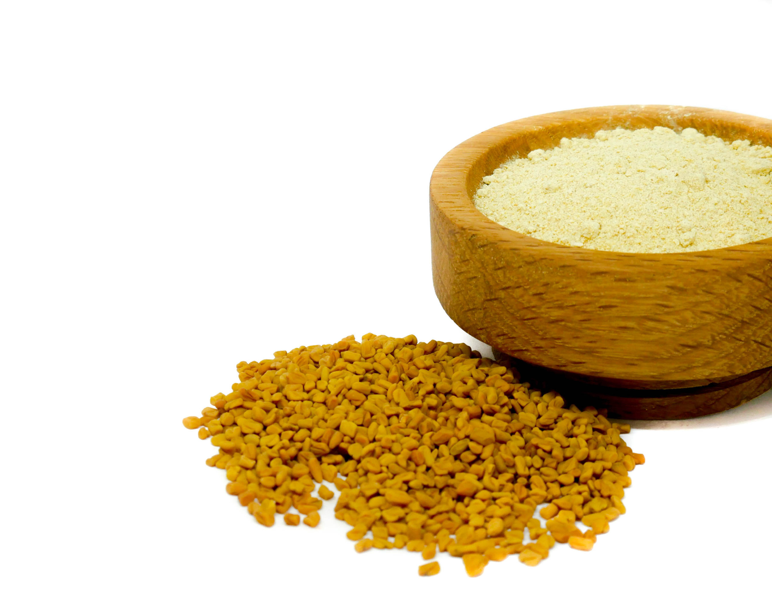 Whole and ground Fenugreek Seed from the Natural Spot