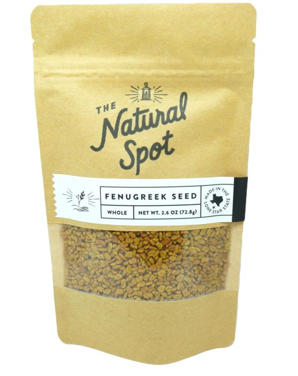 Bag of whole Fenugreek Seed from the Natural Spot