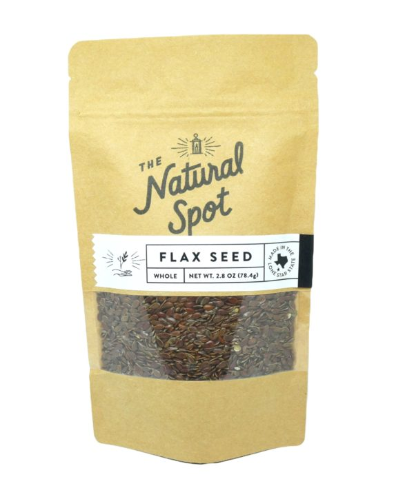 Bag of whole Flax Seed from the Natural Spot