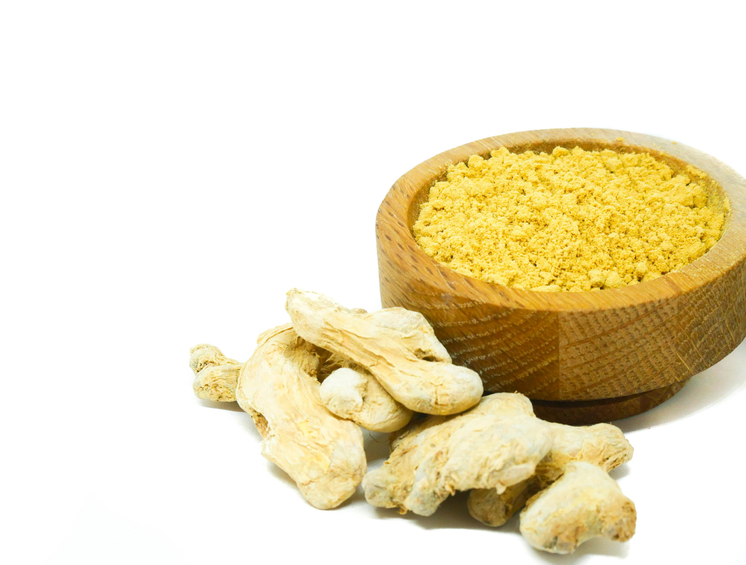 Whole and ground Ginger Root from the Natural Spot