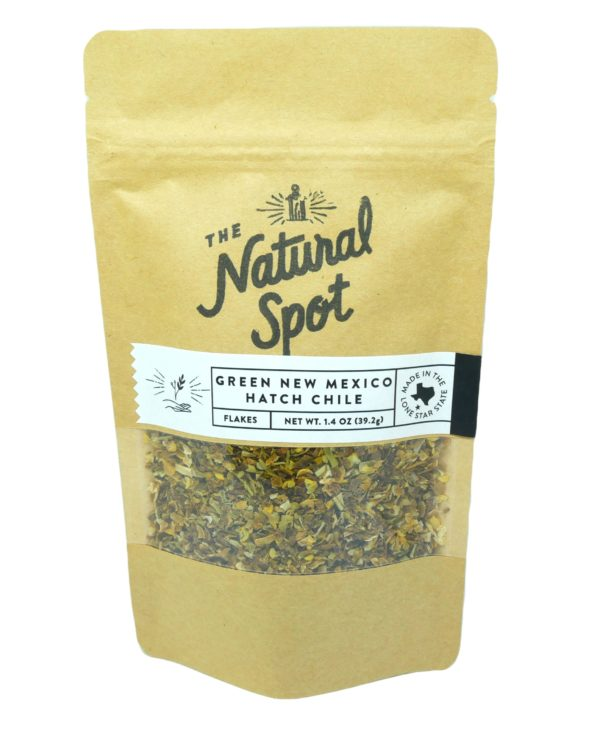 Order New Mexico Hatch Chile Pepper flakes from the Natural Spot