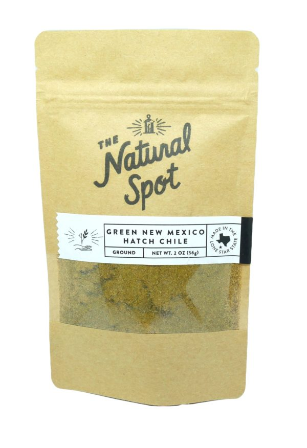 Order ground New Mexico Hatch Chile Pepper from the Natural Spot