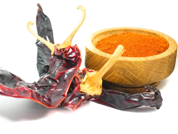 Order Whole Guajillo Chile Pepper flakes from the Natural Spot