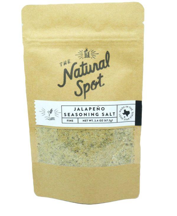 Bag of Jalapeno Seasoning Salt from the Natural Spot