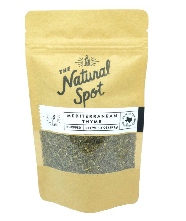 Bag of chopped Mediterranean Thyme from the Natural Spot