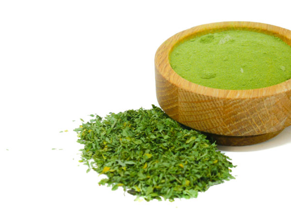Chopped and ground Parsley from the Natural Spot