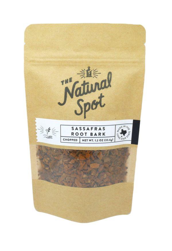Bag of Sassafras Root bark from the Natural Spot
