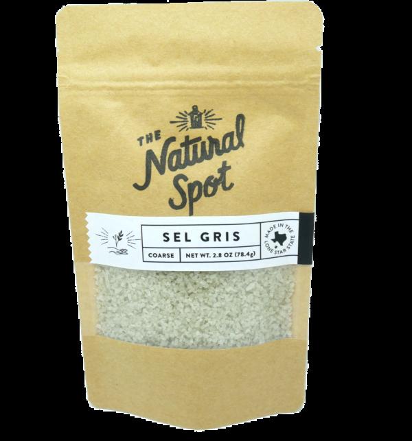 Bag of Sel Gris Salt from the Natural Spot