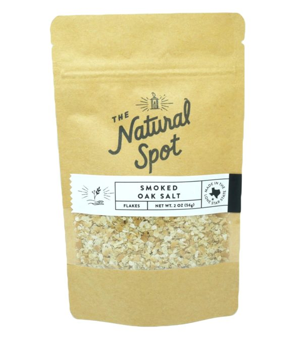 Bag of Smoked Oak Salt from the Natural Spot