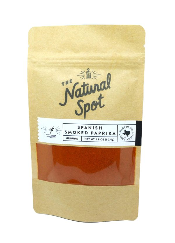 Bag of Spanish Smoked Paprika from the Natural Spot